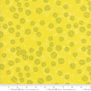 Growing Beautiful - Tonal Leaves Fabric - Trapunto