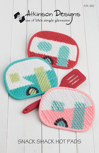 Snack Shack Hot Pads Pattern