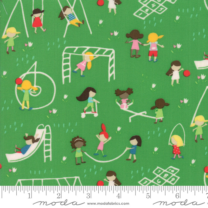 Best Friends Forever - Playground Fabric - Trapunto