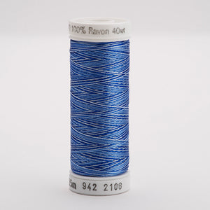Sulky Rayon 250yd 40wt - Variegated Thread - Trapunto