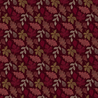 Great Plains - Leaves Fabric - Trapunto