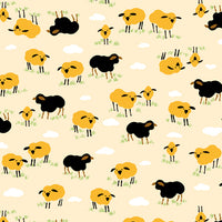 Retro Minis - Sheep Fabric - Trapunto edmonton local fabric store shop