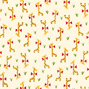 Retro Minis - Giraffes Fabric - Trapunto edmonton local fabric store shop