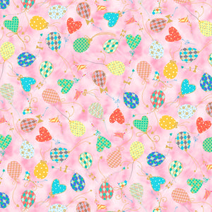 Animal Parade - Balloons Fabric - Trapunto