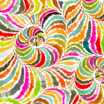 In the Groove - Swirl Fabric - Trapunto