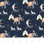 Night Circus Fabric - Trapunto