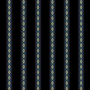 Aruba - Mini Stripe Fabric - Trapunto