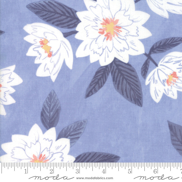 Twilight - Floral Fabric - Trapunto
