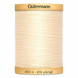 Gutermann Thread Cotton - 800m