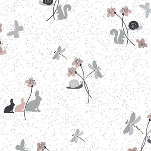 Hollie's Flowers - Forest Friends Fabric - Trapunto