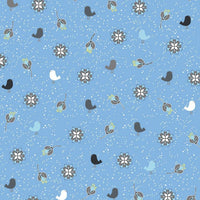 Hollie's Flowers - Birds & Blooms Fabric - Trapunto