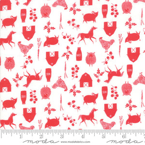 Farm Charm - Icons Fabric - Trapunto