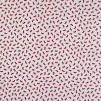 Candy Cane Lane - Stockings Fabric - Trapunto