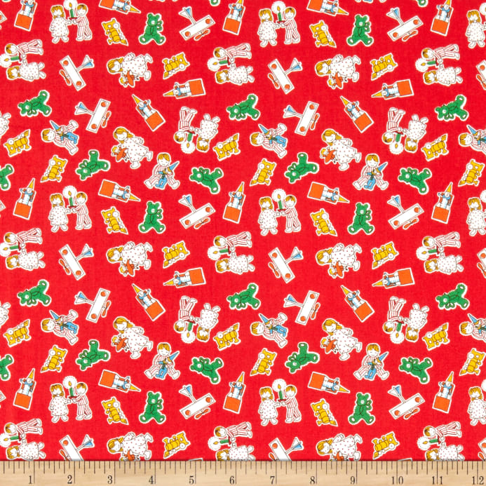 Candy Cane Lane - Christmas Morning Fabric - Trapunto