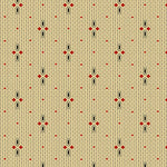 Riviera Rose - Dotted Stripe Fabric - Trapunto edmonton local fabric store shop