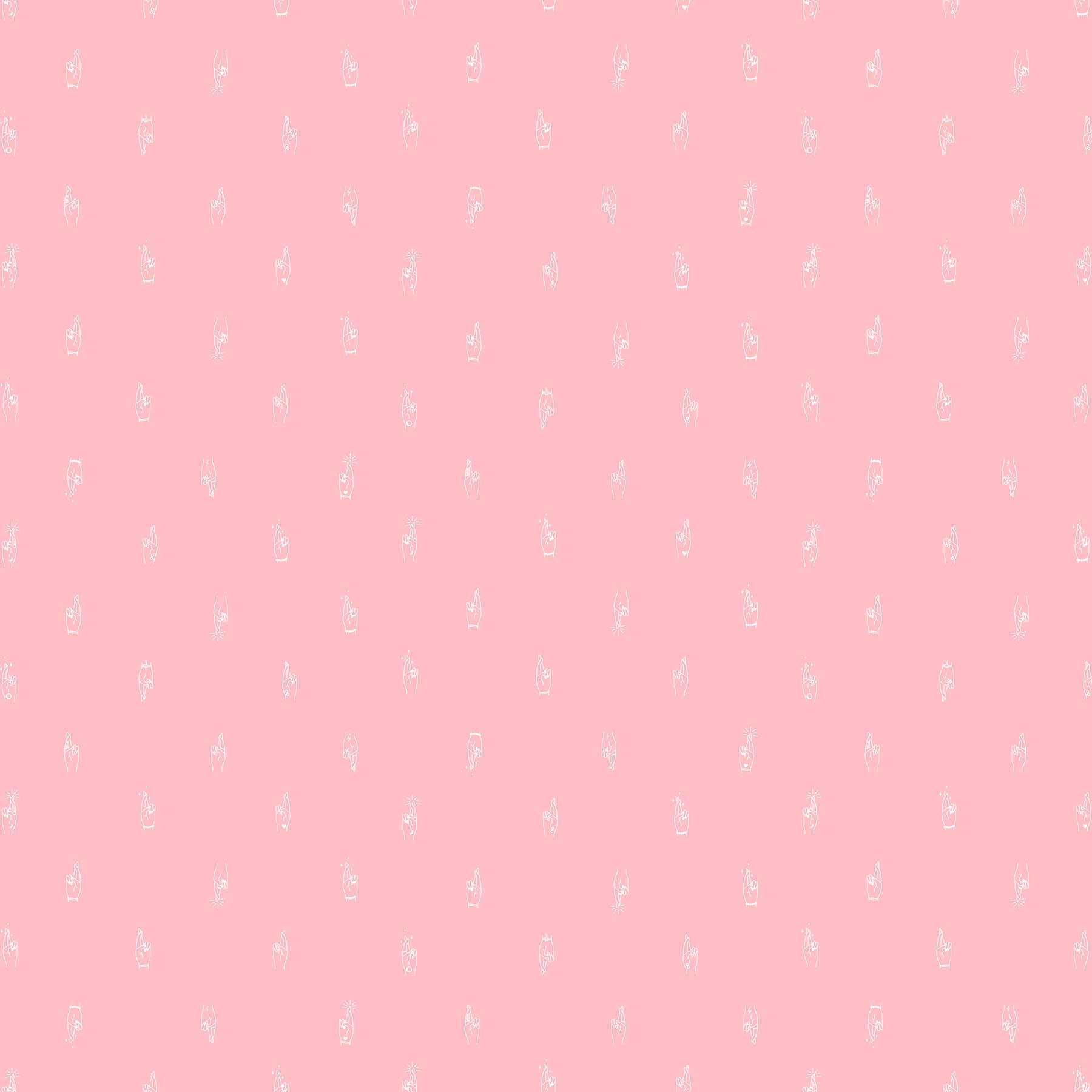 Lucky Charms - Crossed Fingers Fabric - Trapunto