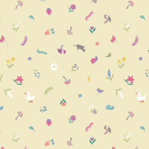Jolly Spring - Pretty Little Spring Fabric - Trapunto