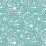 From Old Harry Rocks - Old Harry Rocks Fabric - Trapunto