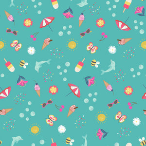 Whatever the Weather - Summer Fabric - Trapunto