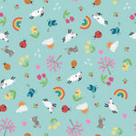 Whatever the Weather - Spring Fabric - Trapunto