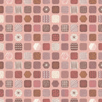 The Old Chocolate Shop - Chocolate Box Fabric - Trapunto