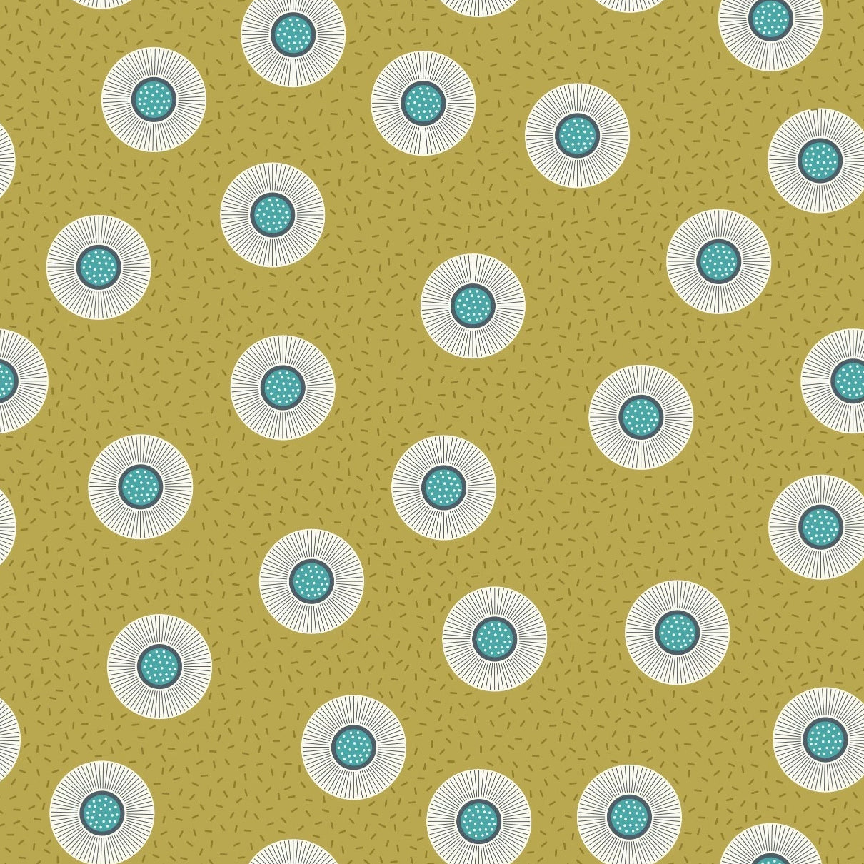 Forme - Flower Dots Fabric - Trapunto