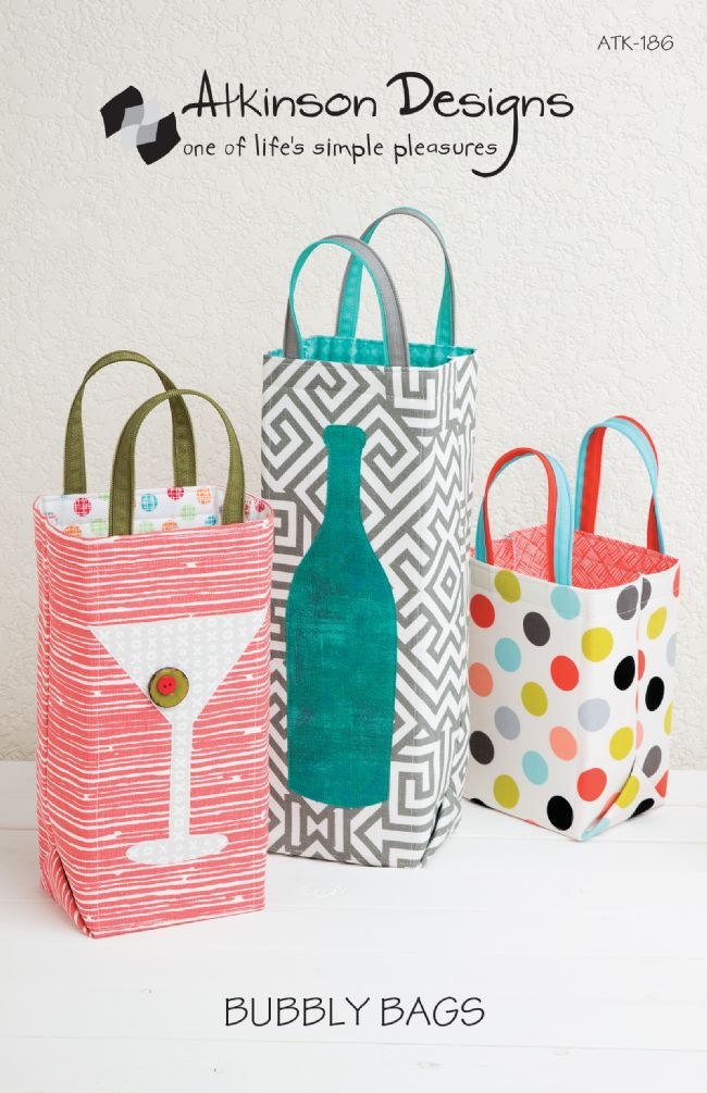 Bubbly Bags Pattern Bag Pattern - Trapunto