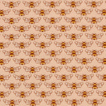 Berry Season - Bees Fabric - Trapunto
