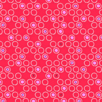 Ditsies - Circles Fabric - Trapunto