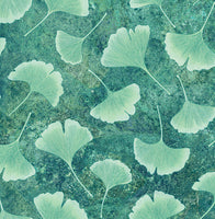 Haiku - Tossed Leaves Fabric - Trapunto