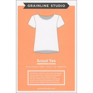 Scout Tee Clothing Pattern - Trapunto