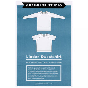 Linden Sweatshirt Clothing Pattern - Trapunto