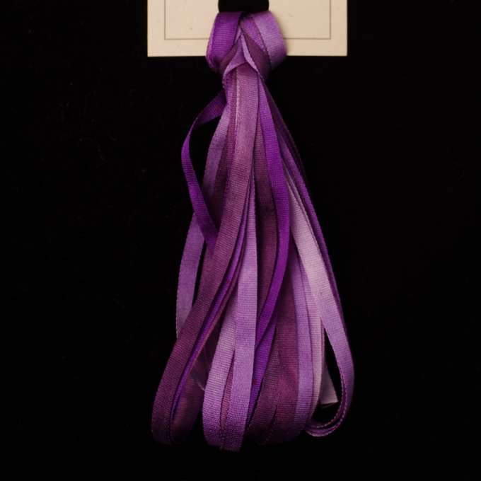 Montano | Grape Hyacinth Silk - Trapunto