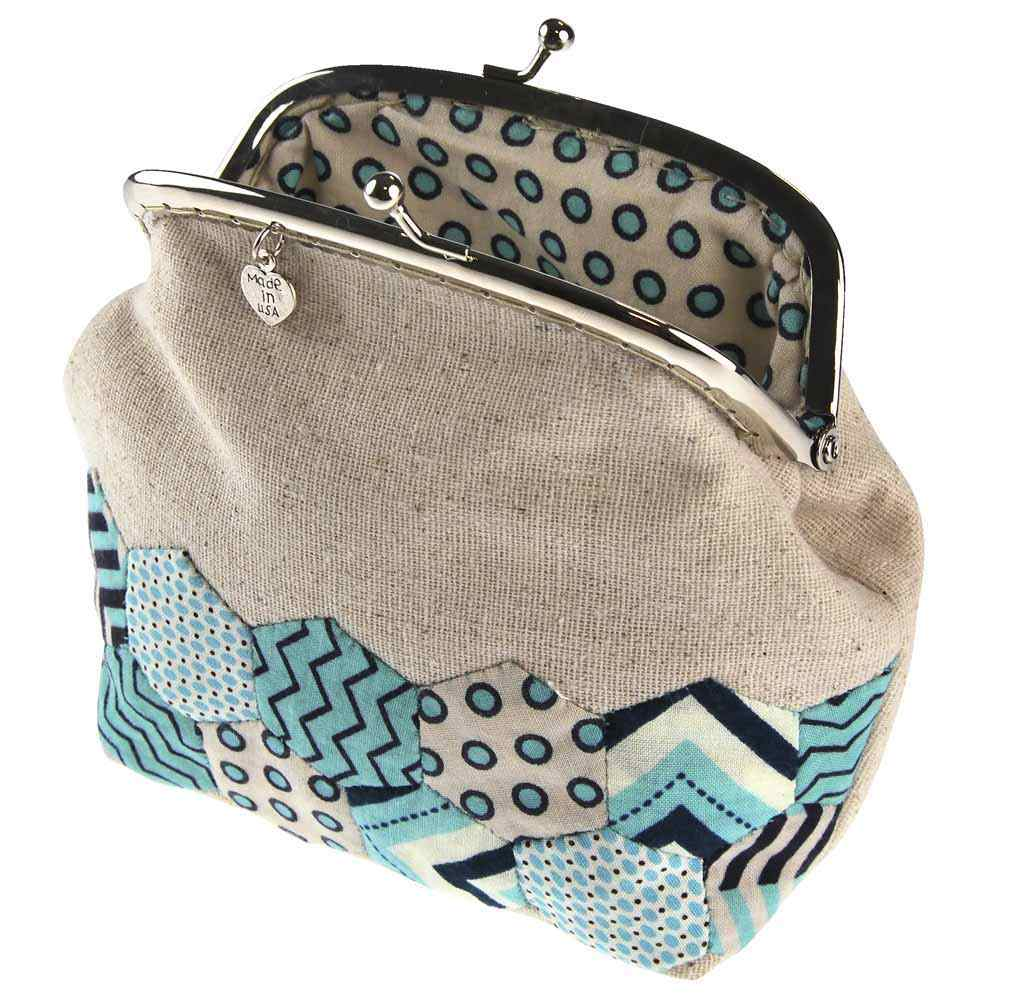 Hexagon Purse Fabric Kit - Trapunto