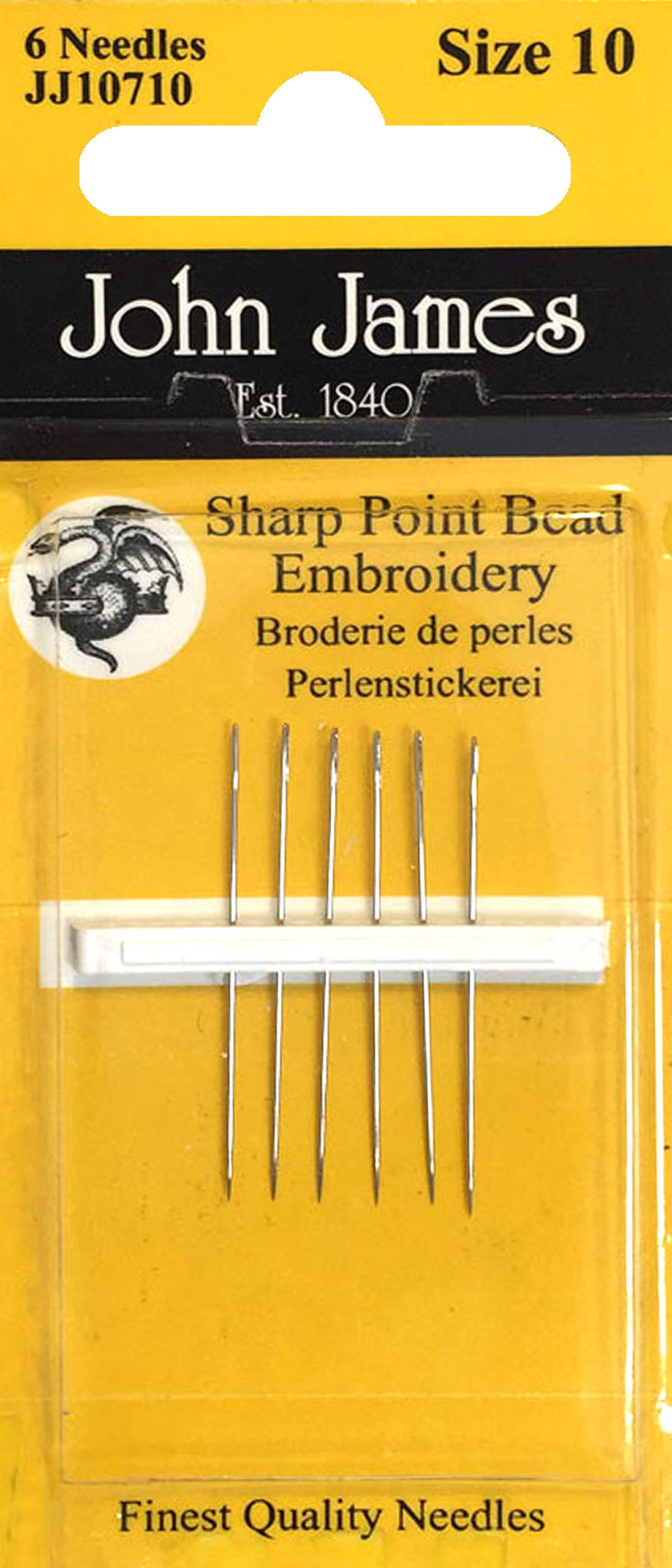 John James Bead Embroidery Needles