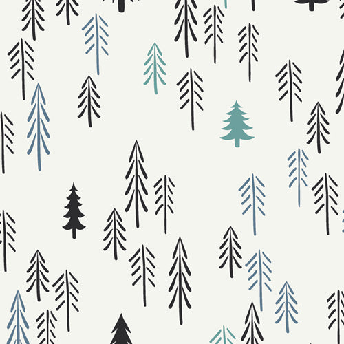 Pine Lullaby Knit - Loblolly Fabric - Trapunto