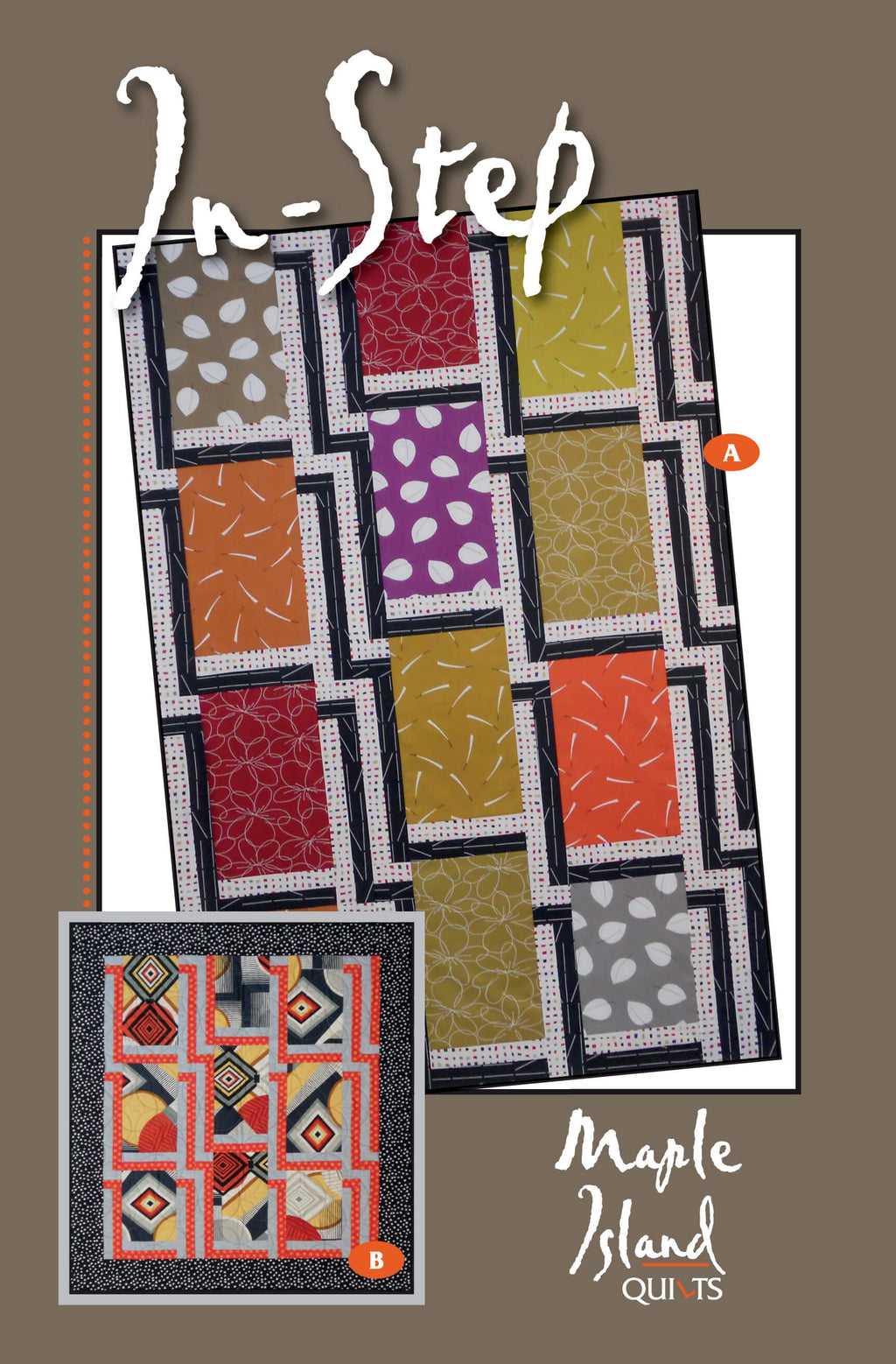 In-Step Quilt Pattern