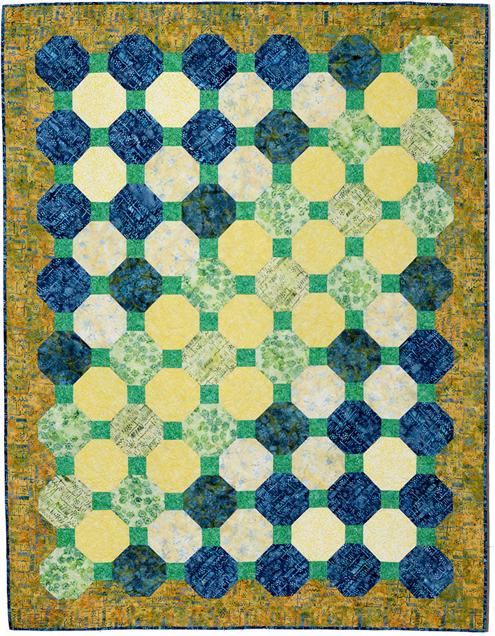 On the Rocks Quilt Pattern Quilt Pattern - Trapunto