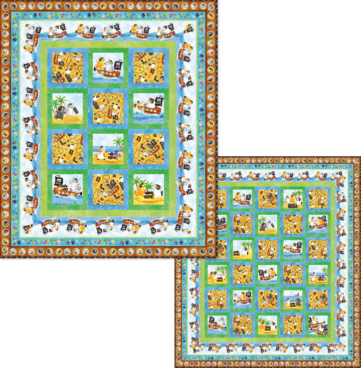 Tails of the Sea Quilt Kit