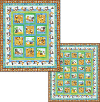Tails of the Sea Quilt Kit Quilt Kit - Trapunto
