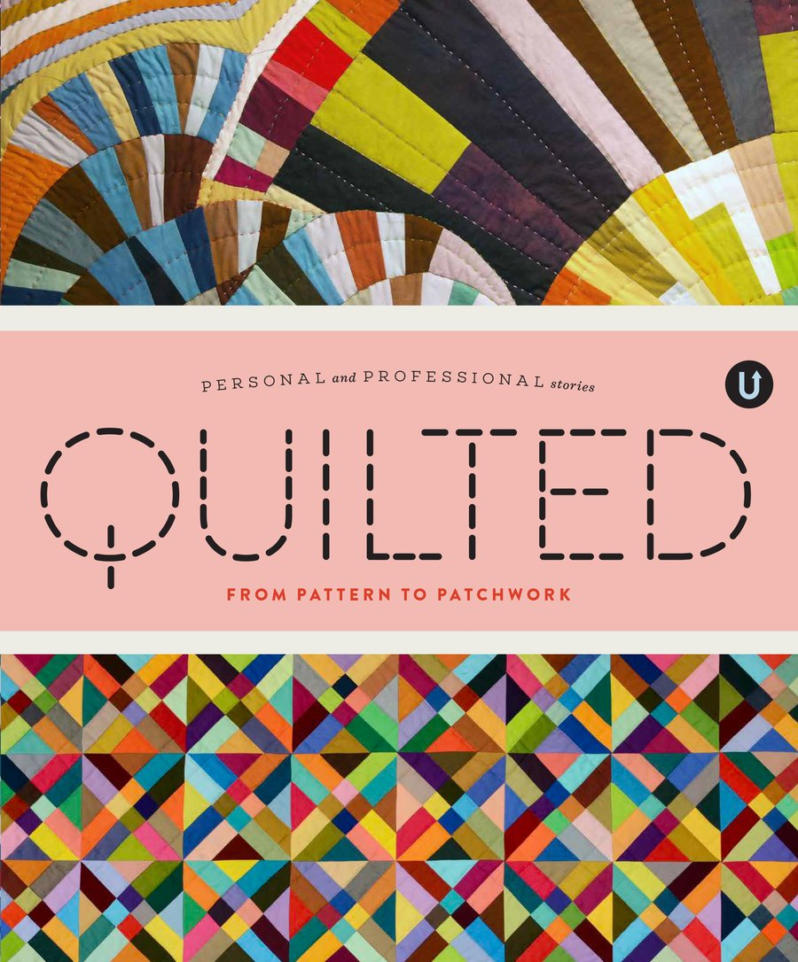 Quilted from Uppercase Book - Trapunto