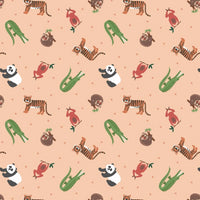 Small Things... World Animals - Asia Fabric - Trapunto