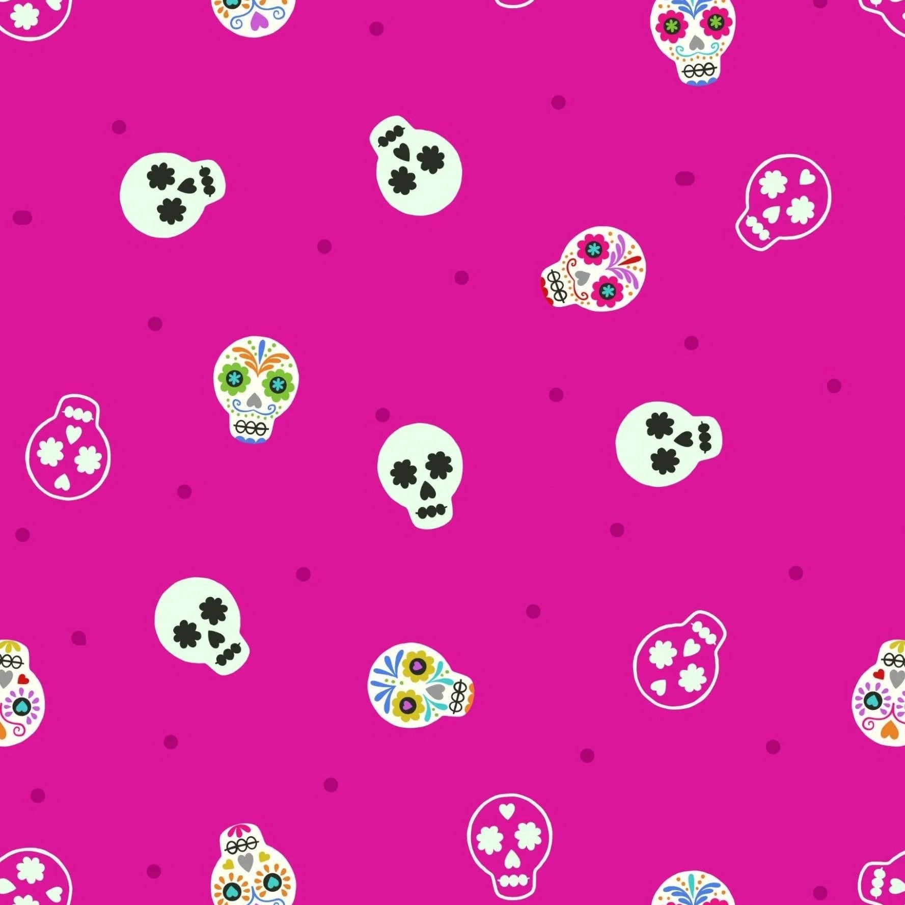 Small Things... Glow - Sugar Skulls