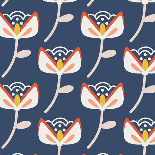 Summer Side - Bungalow Bloom Fabric - Trapunto