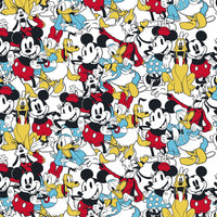 Mickey Mouse & Friends Fabric - Trapunto