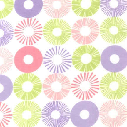 Cozy Cotton Flannel - Star Burst Fabric - Trapunto