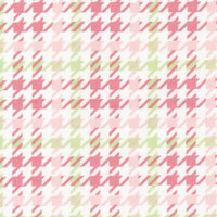 Cozy Cotton Flannel - Houndstooth Fabric - Trapunto