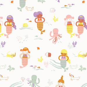 Under the Sea Fabric - Trapunto