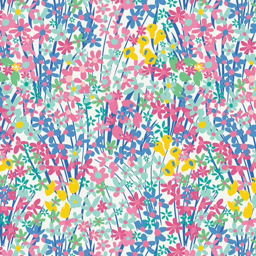 West Palm - Seaside Garden Fabric - Trapunto