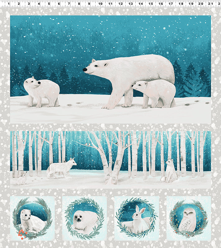 Winter Woodland - Polar Panel
